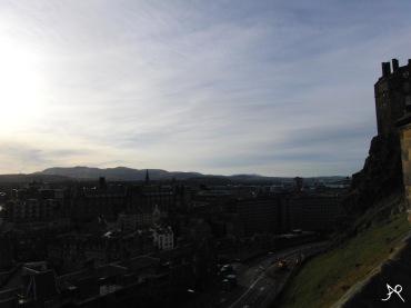 Edinburgh Castle - view