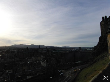 Edinburgh Castle - view
