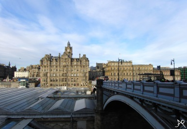 North Bridge and Balmoral Hotel