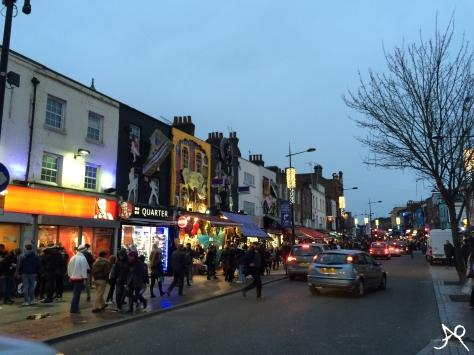 Camden High Street lights