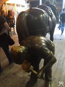 Blacksmith statue