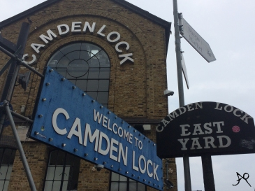 Camden Lock Entrance