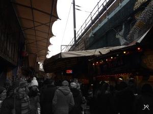 Food stalls Camden Lock Market