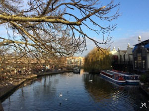 Regent's Canal view from the bridge