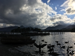 Lake of Derwentwater - view from the theatre