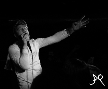 Jonny Craig enjoying the show